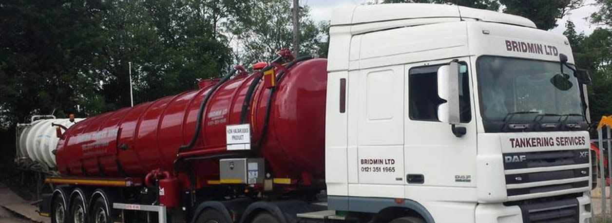 Tanker Hire and Waste Management Solutions - Bridmin Tankers Ltd